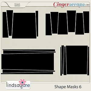 Shape Masks 6 by Lindsay Jane