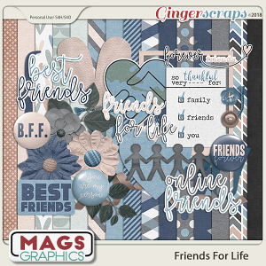 Friends For Life KIT by MagsGraphics