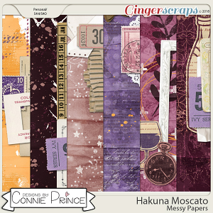 Hakuna Moscato - Messy Papers by Connie Prince