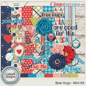 Bear Hugs - Mini Kit by CathyK Designs