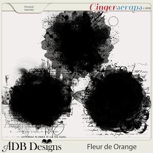 Fleur de Orange Masks