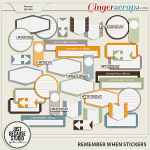 Remember When Stickers by JB Studio