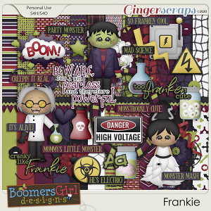 Frankie by BoomersGirl Designs