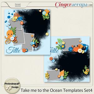 Take me to the Ocean Templates Set4