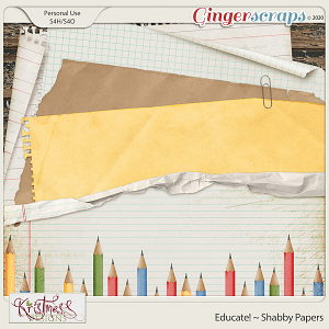 Educate! Shabby Papers