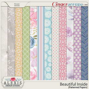 Beautiful Inside - Patterned Papers