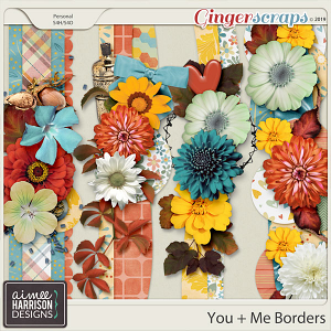 You and Me Borders by Aimee Harrison