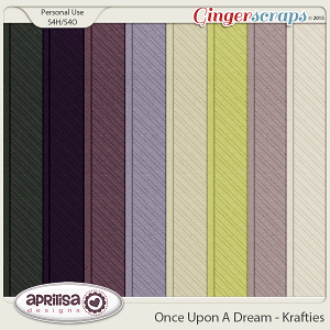 Once Upon A Dream - Krafties by Aprilisa Designs