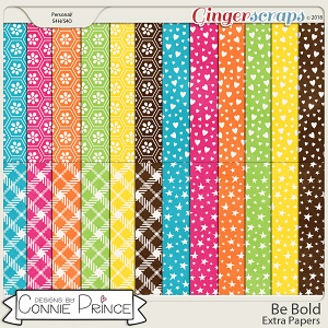 Be Bold - Extra Papers by Connie Prince