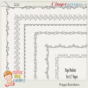 Page Borders 41 By Cutie Pie Scraps
