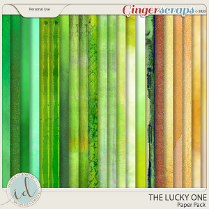 The Lucky One Paper Pack by Ilonka's Designs