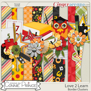 Love 2 Learn - Borders by Connie Prince