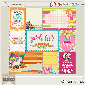 Oh Girl Cards by JoCee Designs