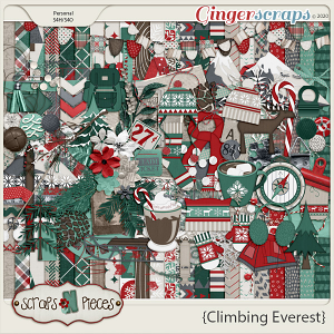 Climbing Everest Kit - Scraps N Pieces