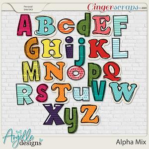 Alpha Mix by Angelle Designs
