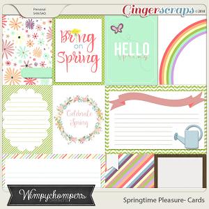 Springtime Pleasure Cards