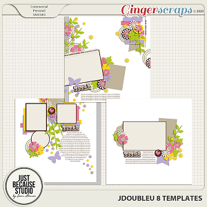 JDoubleU 8 Templates by JB Studio