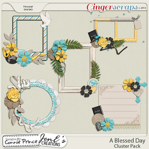 A Blessed Day - Cluster Pack