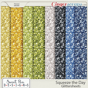 Squeeze the Day Glittersheets