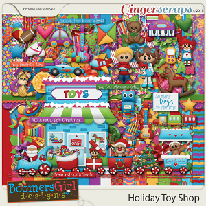 Holiday Toy Shop by BoomersGirl Designs