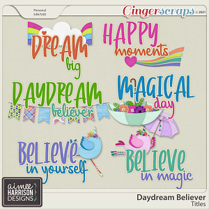 Daydream Believer Titles by Aimee Harrison