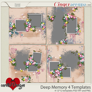 Deep Memory 4 Templates by CarolW Designs