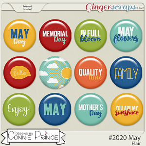 #2020 May - Flair Pack by Connie Prince