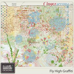 Fly High Graffiti by Aimee Harrison
