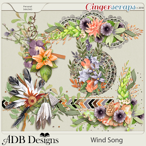 Wind Song Clusters by ADB Designs