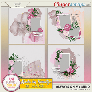 Always On My Mind Templates by JB Studio and Keuntje