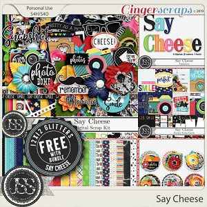 Say Cheese Digital Scrapbook Bundle