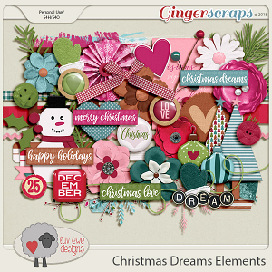 Christmas Dreams Elements by Luv Ewe Designs
