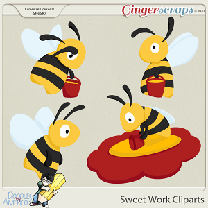 Doodles By Americo: Sweet Work Cliparts
