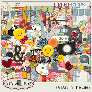 A Day In The Life Kit by Scraps N Pieces
