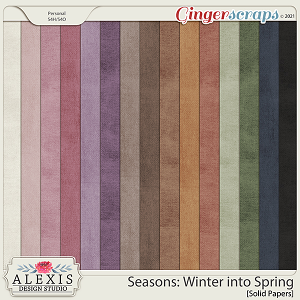 Seasons: Winter into Spring - Solids