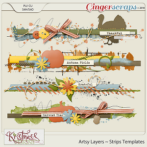 CU Artsy Layers ~ Strips Templates