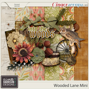 Wooded Lane Mini Kit by Aimee Harrison