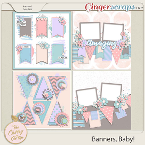The Cherry On Top Banners, Baby! Templates