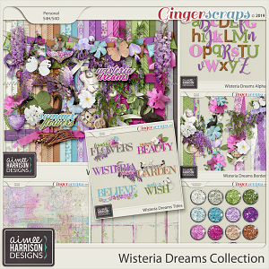 Wisteria Dreams Collection by Aimee Harrison