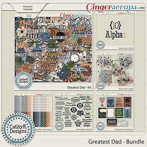 Greatest Dad - Bundle by CathyK Designs