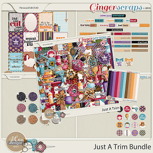 Just A Trim Bundle by JoCee Designs