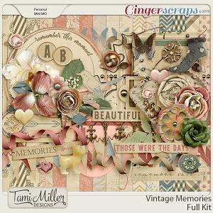 Vintage Memories Full Kit by Tami Miller Designs
