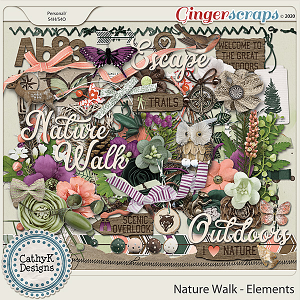 Nature Walk - Elements by CathyK Designs
