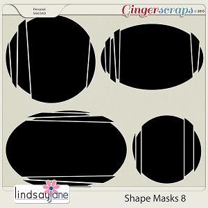 Shape Masks 8 by Lindsay Jane