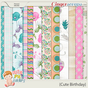 Cute Birthday Papers
