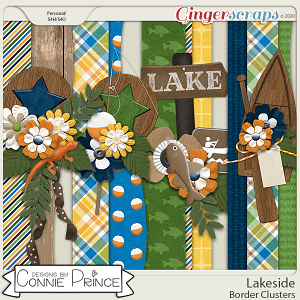 Lakeside - Border Clusters by Connie Prince