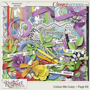 Colour Me Crazy Page Kit
