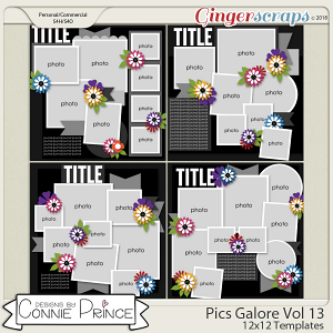 Pics Galore Volume 13 - 12x12 Temps (CU Ok) by Connie Prince