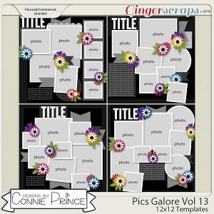 Pics Galore Volume 13 - 12x12 Temps (CU Ok) by Connie Prince