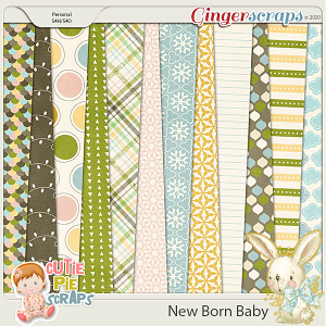 New Born Baby Pattern Papers